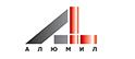 Логотип компании АЛЮМИЛ