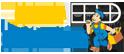 Логотип компании Окна строитель