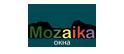 Логотип компании Mozaika окна